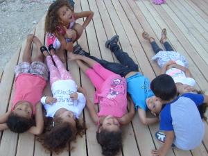 enfants terrasse